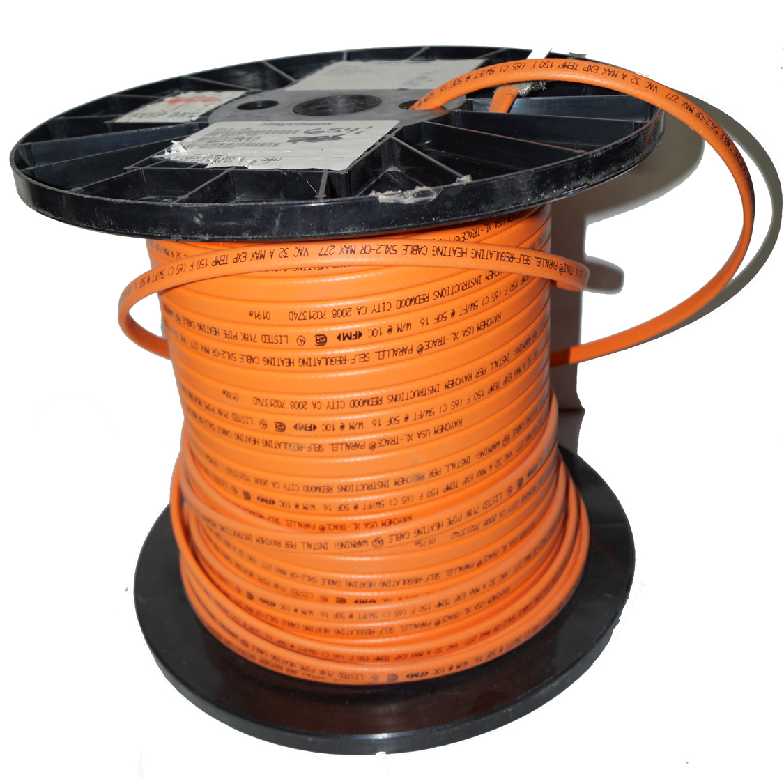 Raychem Heat Trace Cable : Raychem pipe heating cable xl cr