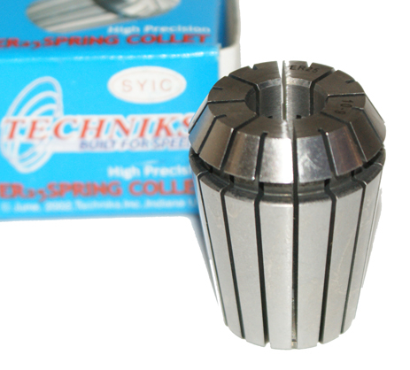 ER25 Spring Collet 10mm Techniks High Precision ER-25