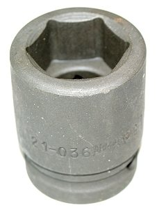 "Armstrong 1-1/8"" Impact Socket - 3/4"" Drive Part 21-036"