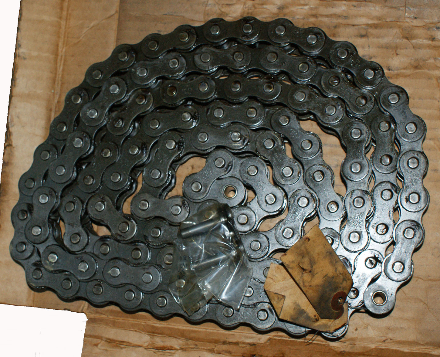 Roller Chain 10' 80 Rivited - Atlas Precision