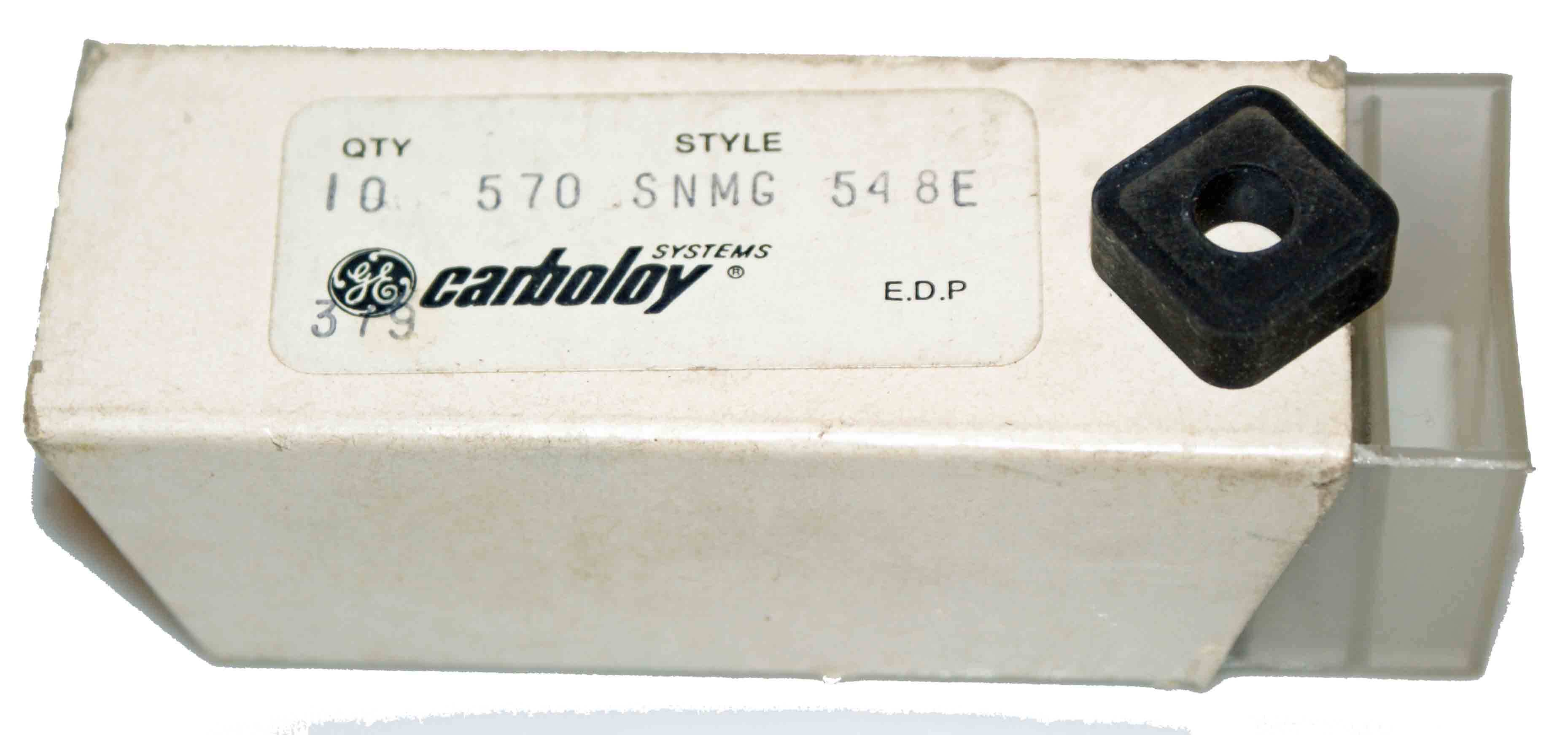 Carboloy 570 SNMG-548E Insert Set