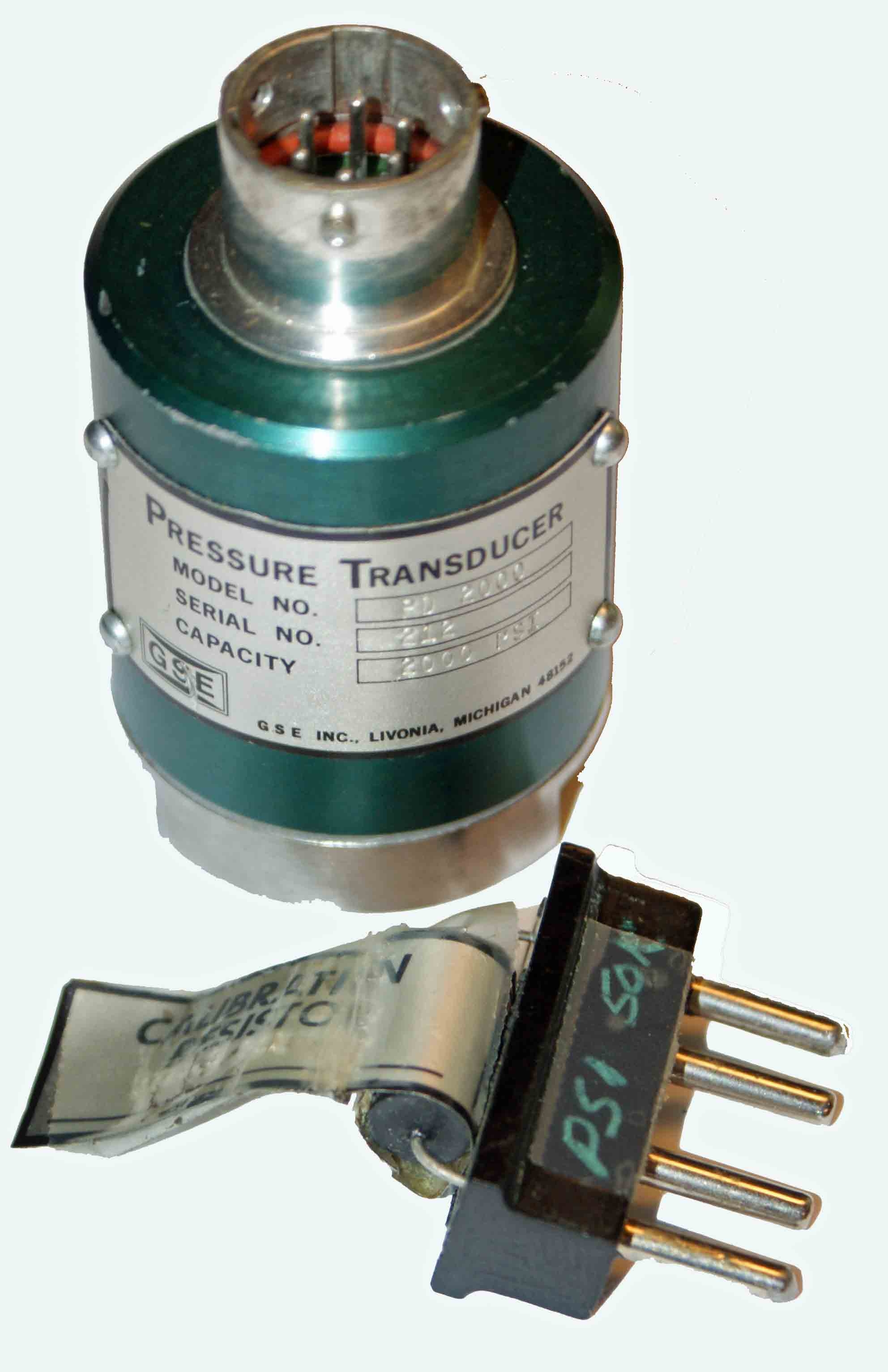 GSE PD-2000 Pressure Transducer
