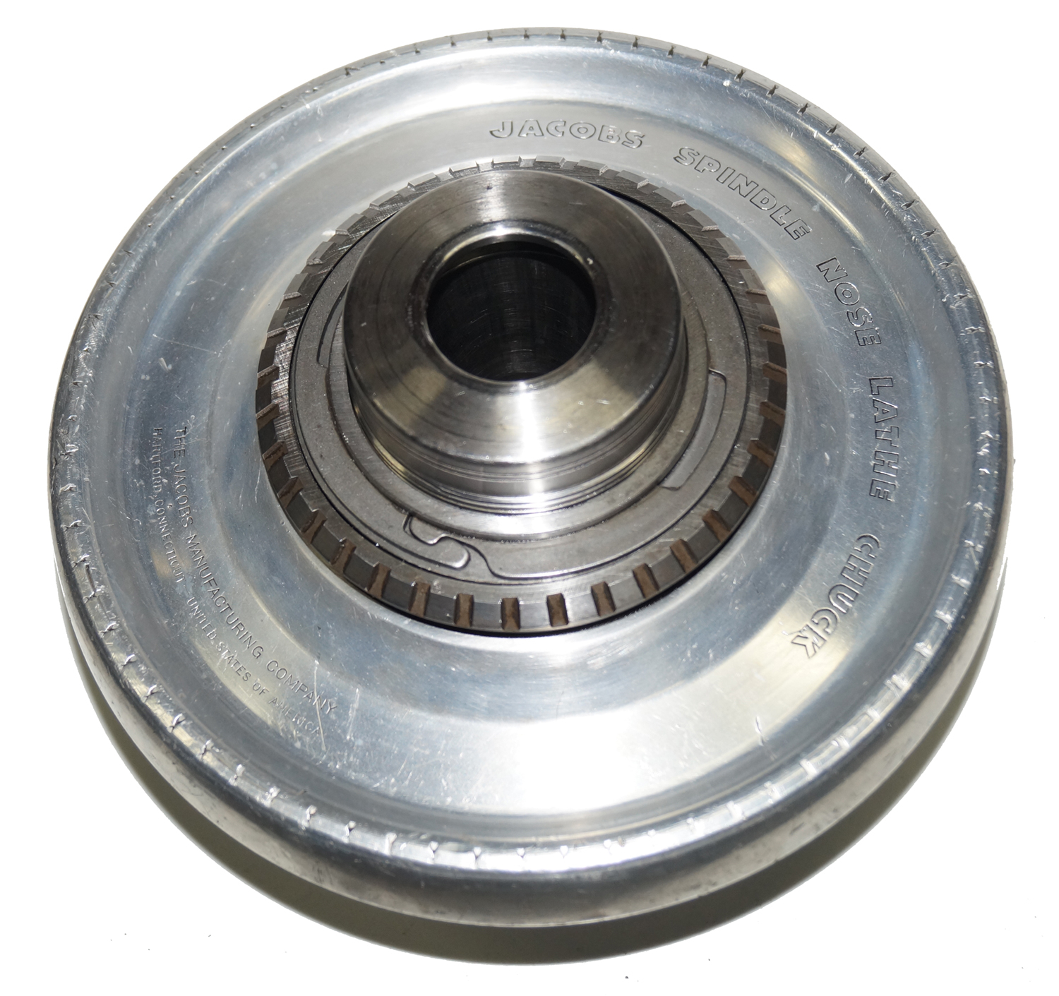 Jacobs 91-T0 L0 Spindle Nose Lathe Chuck