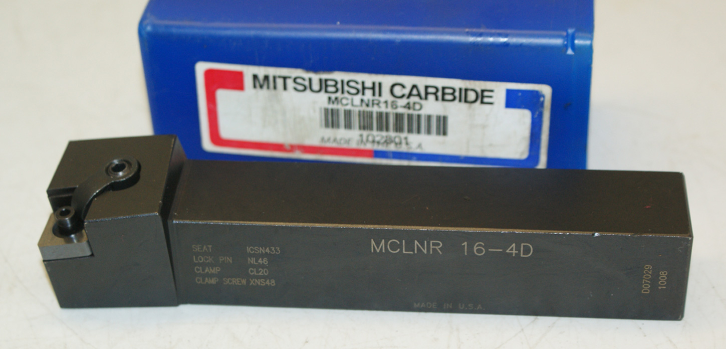 MCLNR16-D Carbide Toolholder