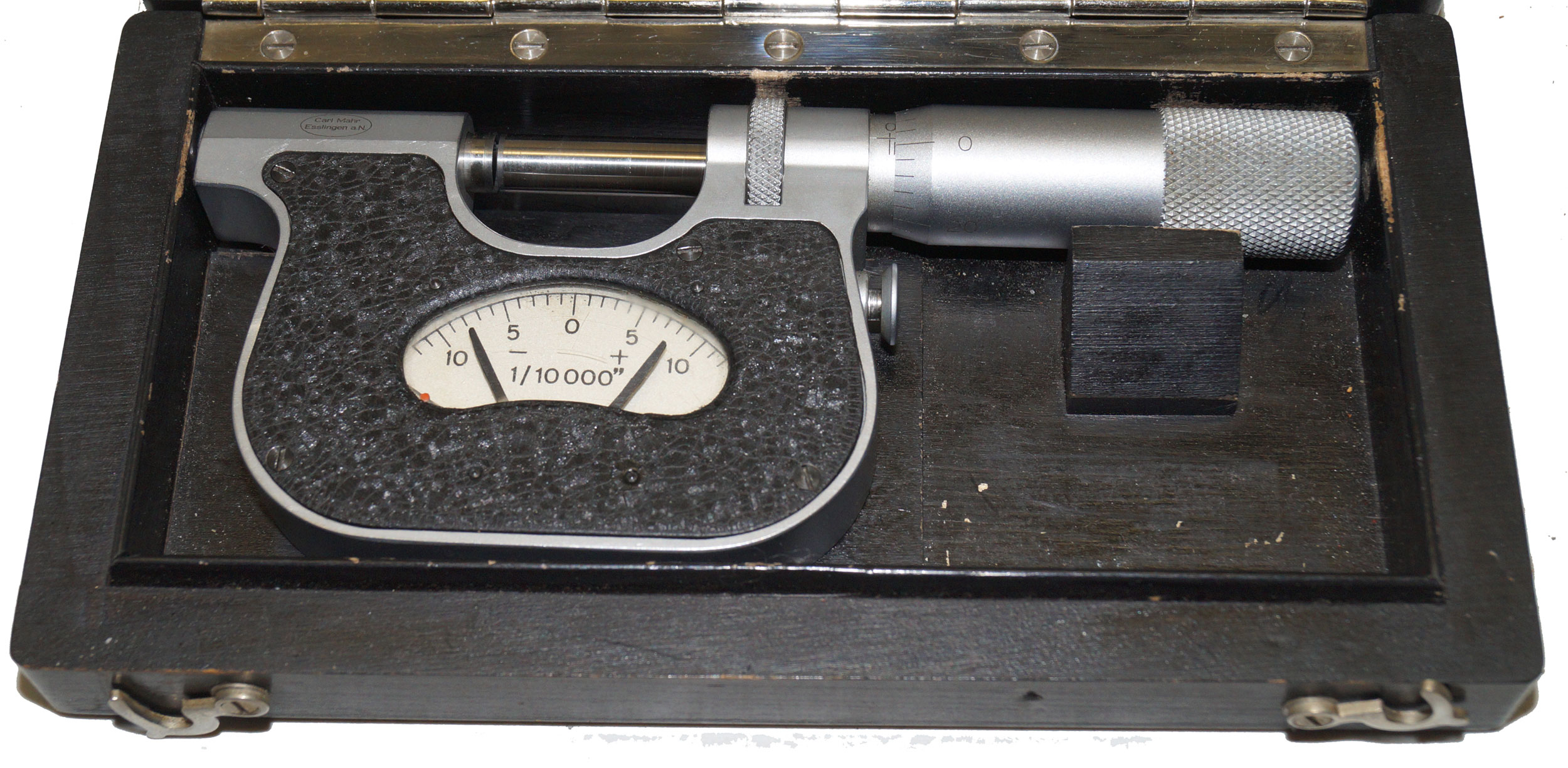 "Mahr 0-1"" Indicating Micrometer 1/10,000"