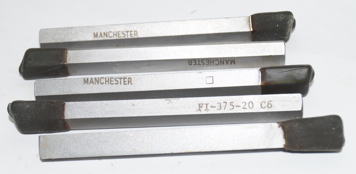 Brazed Carbide Cut-Off Tool, FI-375-20 C6 Carbide