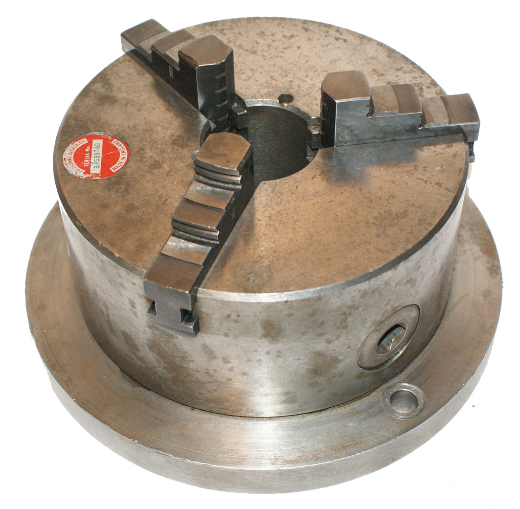 "3-Jaw Chuck 5-1/2"" Scroll-Lock National Chuck Co."