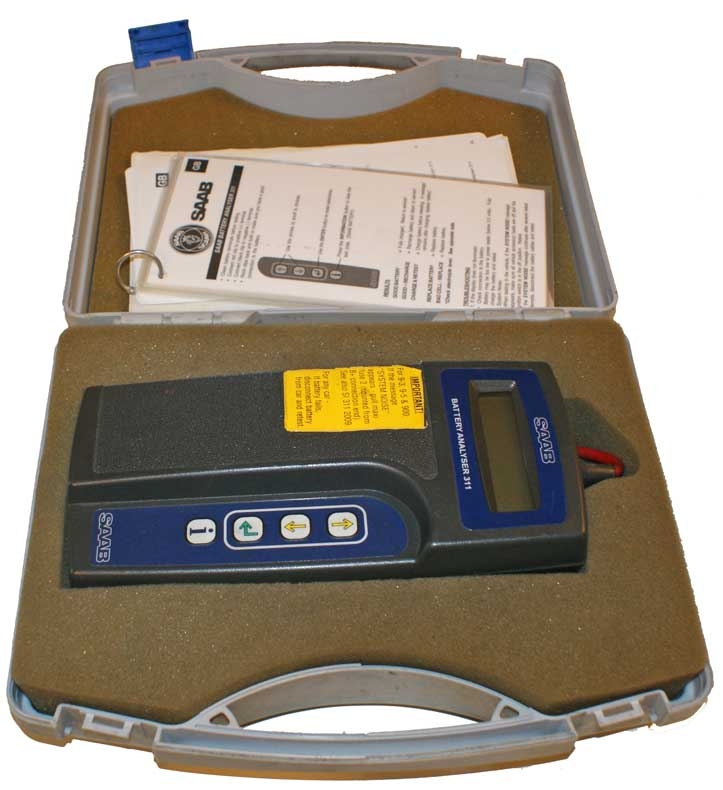 SAAB 311 Battery Analyser
