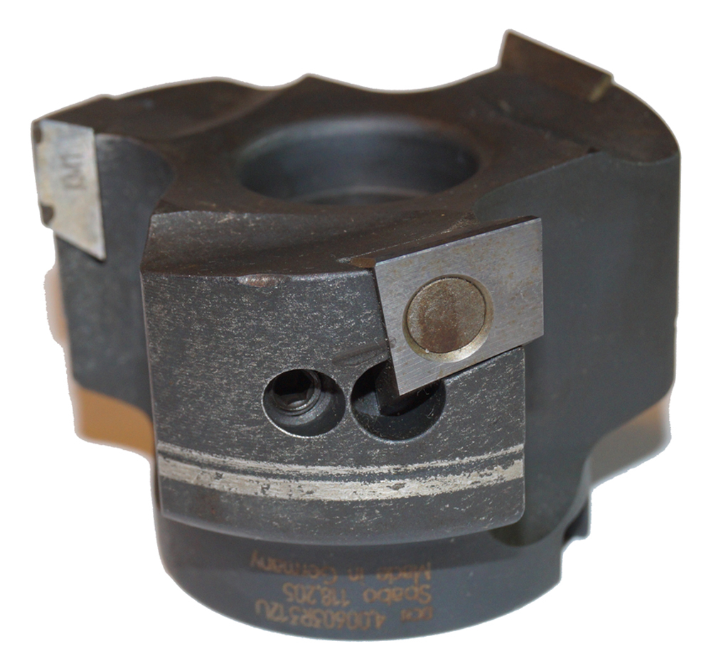 "Spabo 3"" Milling Cutter 118.205 Indexable Insert"