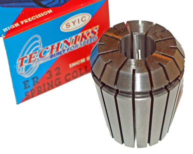 "ER32 Spring Collet 1/2"" Techniks High Precision ER-32"