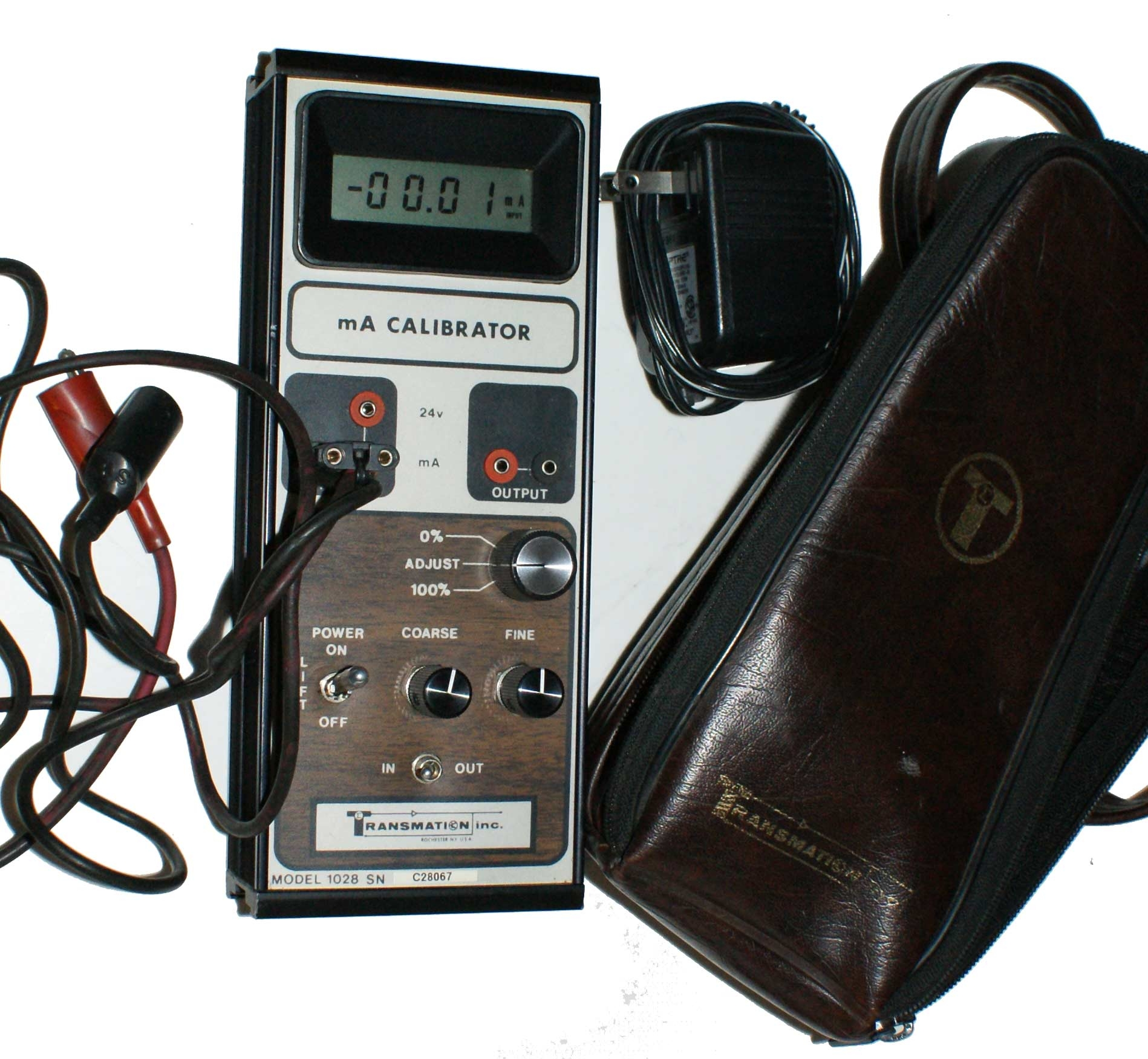 Transmation 1028 mA Calibrator