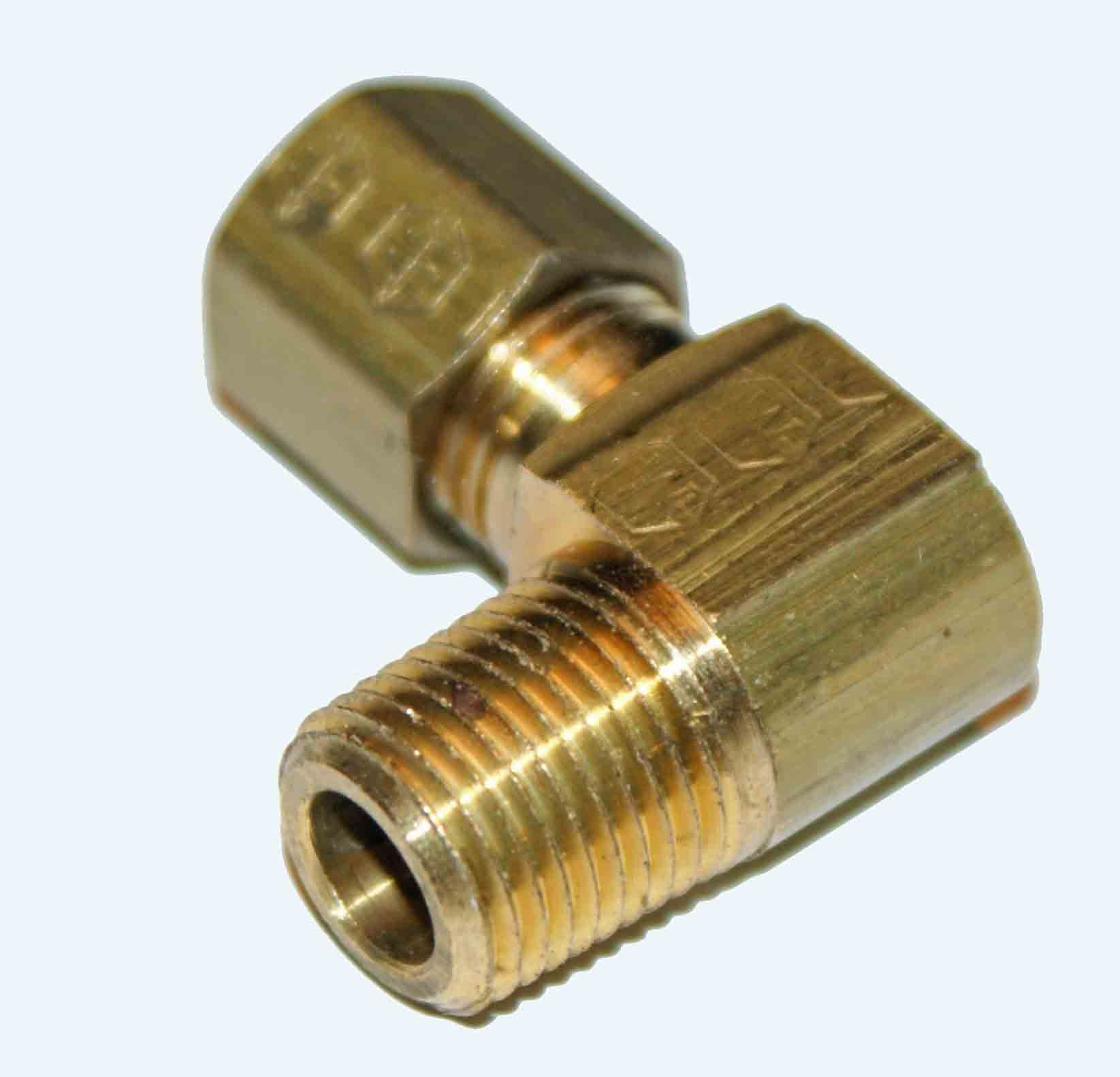 Weatherhead 69X2 Male Angle Compression Fitting